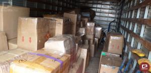 PRE apreende caminhão com contrabando em Santa Helena