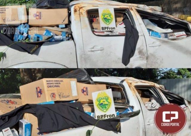 Após acompanhamento tático BPFron prende homem com veículo carregado em Vera Cruz D Oeste