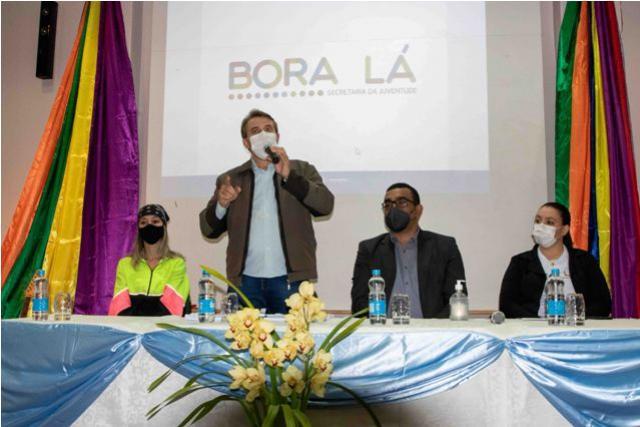 """Programa """"Bora Lá"""" vai reunir ações em prol da juventude"""