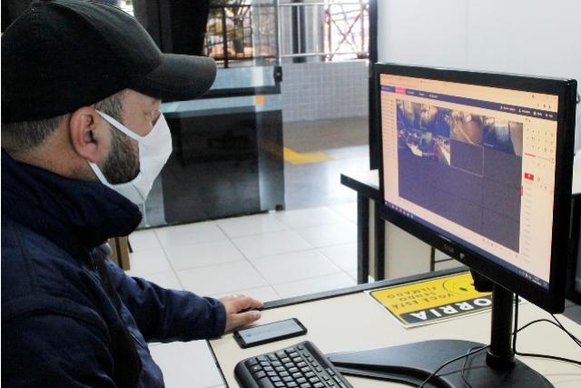 Segurança: Rodoviária conta agora com sistema de videomonitoramento