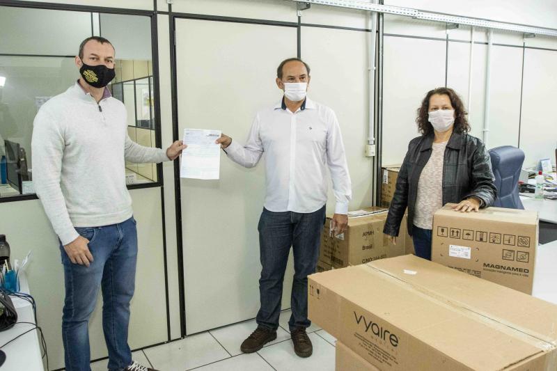Ministério da Saúde repassa dois respiradores para Toledo combater Covid-19