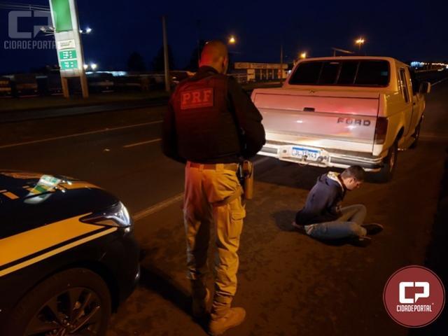 PRF recupera veículo furtado em Santa Terezinha antes mesmo do proprietário perceber o delito