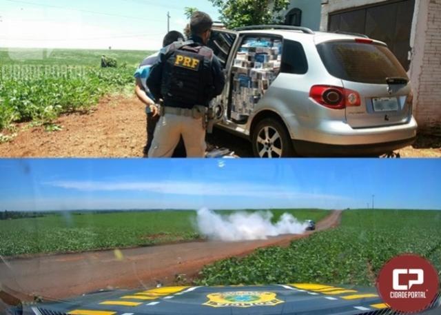 PRF prende contrabandista em Marechal Cândido Rondon
