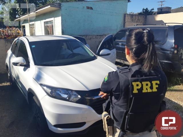 PRF de Santa Terezinha de Itaipu recupera veículo roubado