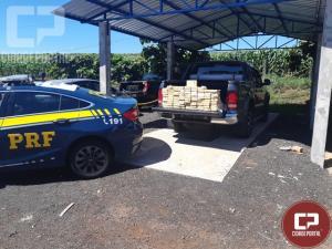 PRF prende dupla transportando cocaína até Curitiba