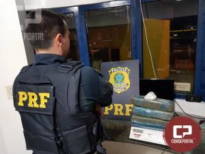 Uma pessoa foi presa transportando drogas em ônibus de linha em Catanduva