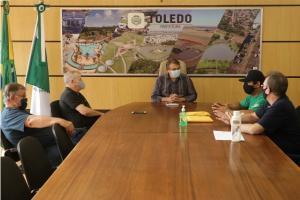 Diretoria da Fazenda da Esperança participa de reunião com o Governo Municipal