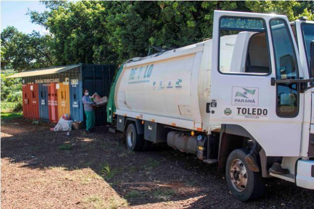 Coleta seletiva em Toledo chega a 100% da área urbana