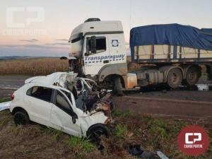 Jovem de 23 anos perde a vida em acidente na PR-585 em Toledo