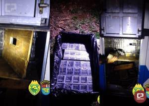 BPFron apreende ônibus com diversos fundos falsos em Cascavel