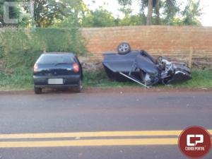 Acidente deixa duas pessoas feridas em Pato Bragado
