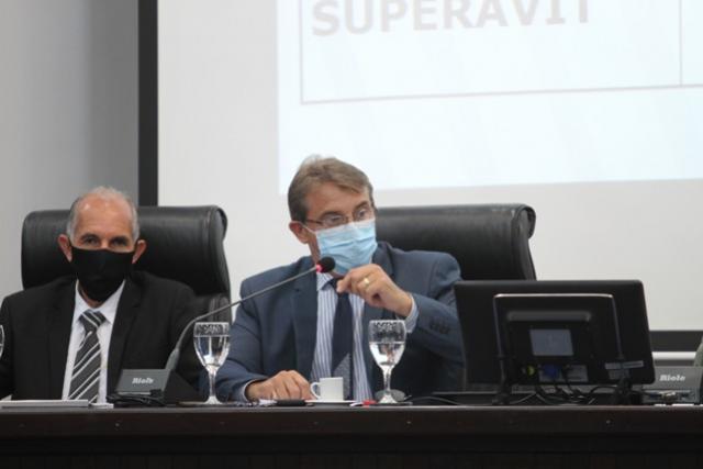 Prefeito participa da abertura dos trabalhos da Câmara de Vereadores
