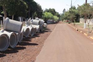 Obras de urbanização são iniciadas no distrito de Bom Princípio do Oeste