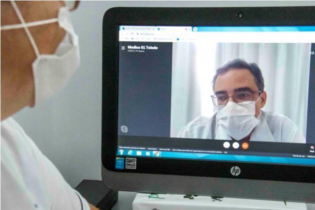 Toledo conta com serviço de consultas por vídeo durante pandemia