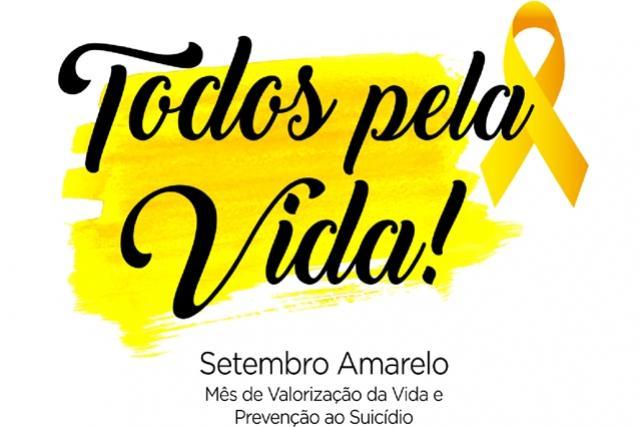 Prevenção ao suicídio será o foco de ações do Setembro Amarelo em Toledo