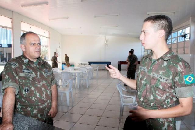Serviço Militar: 550 jovens passam por inspeção de saúde em Toledo