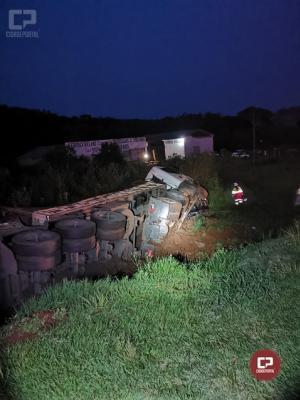 PRF atende acidente com vítima fatal no município de Virmond