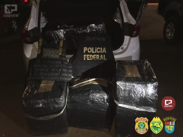 Policiais apreendem volumes de eletrônicos em Foz do Iguaçu durante Operação Hórus
