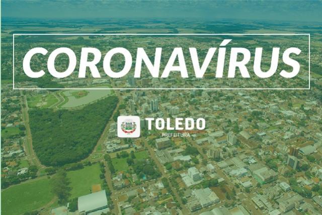 Boletim: Toledo registra 68º óbito por Covid-19