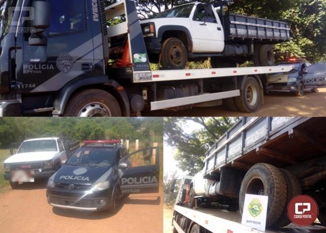 BPFron recupera, em Marechal Cândido Rondon, veículo que foi furtado na cidade de Toledo