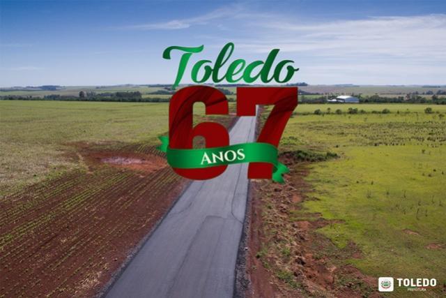 Toledo: Os muitos e grandes benefícios do programa de pavimentação rural