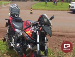 Jovem de 22 anos fica gravemente ferido em acidente na PR-491 entre Marechal e Nova Santa Rosa