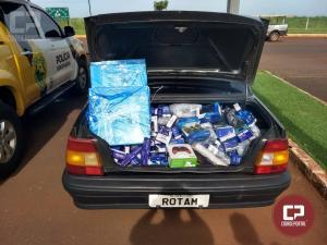 Polícia Rodoviária Estadual apreende veículo com equipamentos eletrônicos contrabandeados