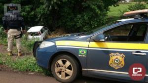 Após 10 km de fuga, PRF e PM prendem homem com 113 quilos de maconha em Toledo