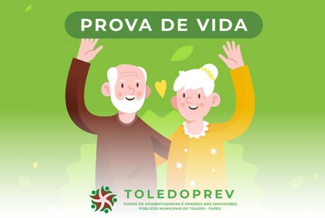 Prova de vida de beneficiários do Fapes/Toledoprev segue até dia 26