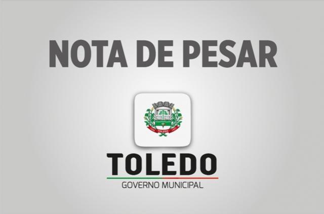 Nota de Pesar - Prefeitura de Toledo lamenta falecimento de Rubens Recalcatti