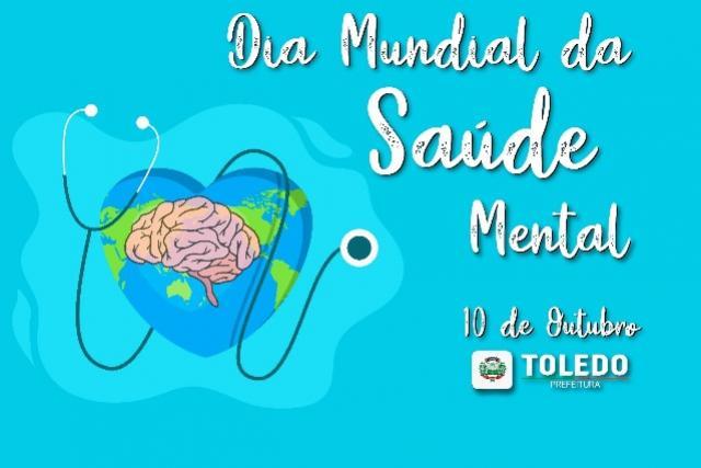 Dia da Saúde Mental: Data será marcada com Caminhada da Saúde e orientações dos Serviços em Toledo