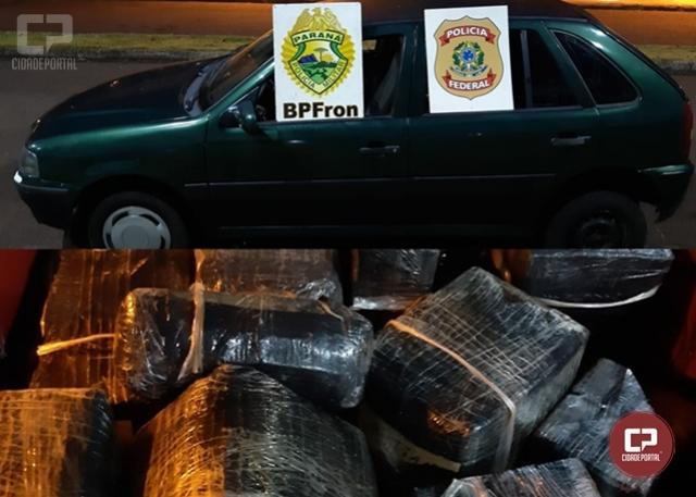 Policiais prendem três pessoas com mercadorias contrabandeadas em Foz do Iguaçu