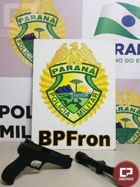 BPFron apreende contrabando e cumpre mandado de prisão em ações distintas