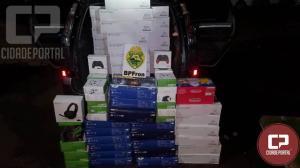 BPFron apreende veículos com contrabando e descaminho em Céu Azul-PR