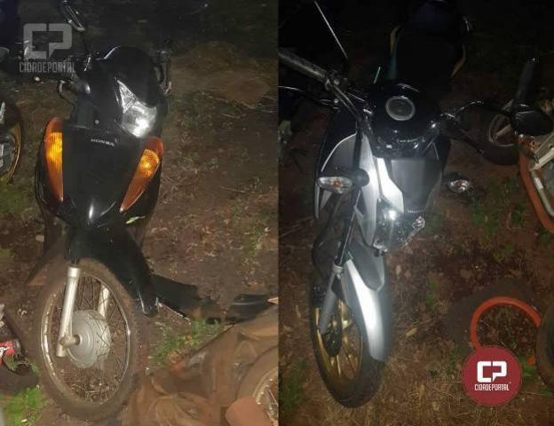 Acidente entre Biz e CG 160 deixa três pessoas feridas em Marechal Cândido Rondon