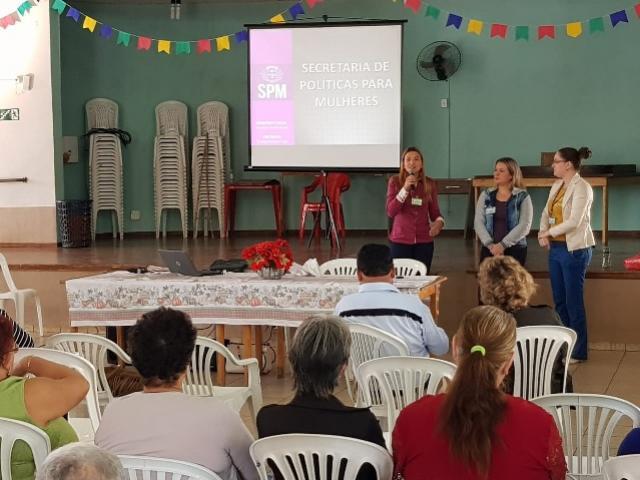 Palestra em Toledo aborda combate à violência contra a mulher