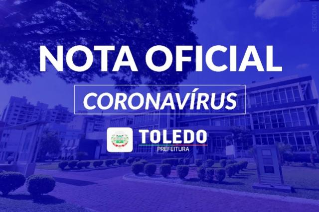 Secretaria de Saúde divulga 21º óbito por Covid-19 em Toledo