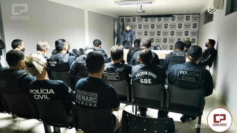 Polícia Civil Deflagra Operação Tríade contra o Narcotráfico