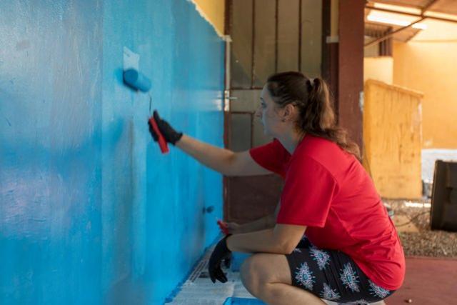 Unidade Social Jardim Coopagro foi revitalizado por alunos da PUC de Toledo