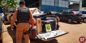 Operação Hórus registra apreensão de veículo carregado com cigarros em Foz do Iguaçu