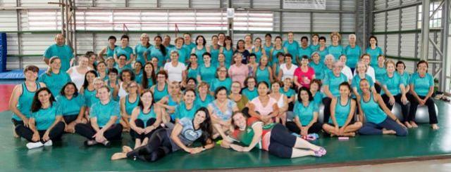 SMEL de Toledo encerra atividades de Pilates Solo 2019