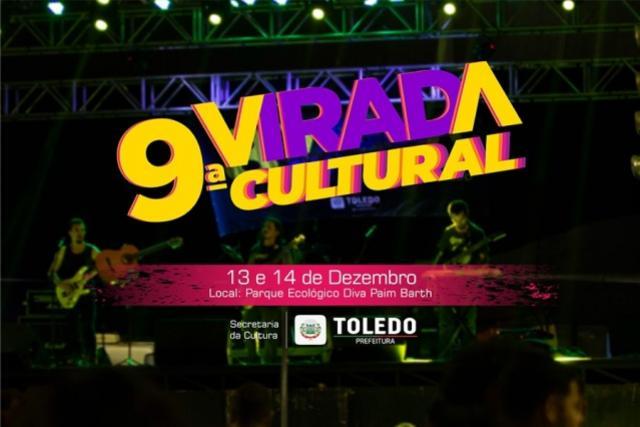 Confira a programação da Virada Cultural 2019 de Toledo