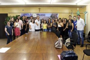 Novos servidores tomam posse na Prefeitura de Toledo