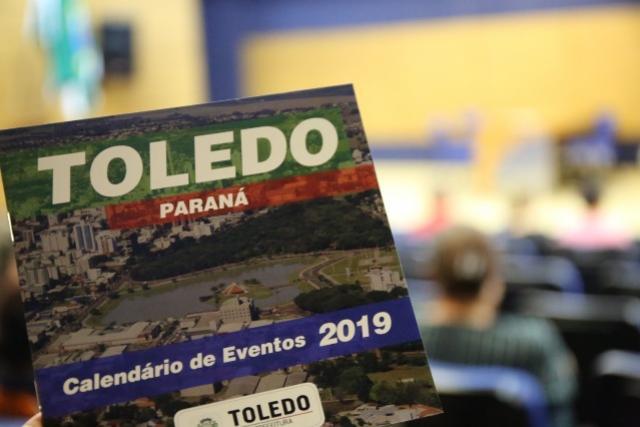 Agenda Aberta retorna com lançamento do Calendário de Eventos 2019 em Toledo