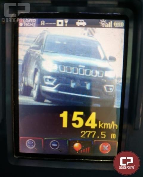 PRE autua 30 motoristas por excesso de velocidade em Tupãssi