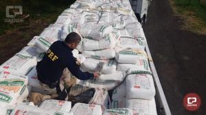 PRF apreende 3,5 toneladas de maconha em Céu Azul