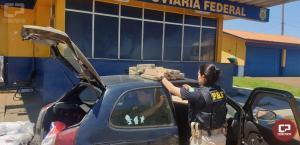 PRF descobre maconha escondida em tanque de combustível no município de Santa Terezinha