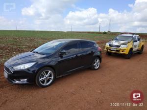 PRE de Cascavel recupera veículo roubado nesta quinta-feira, 12