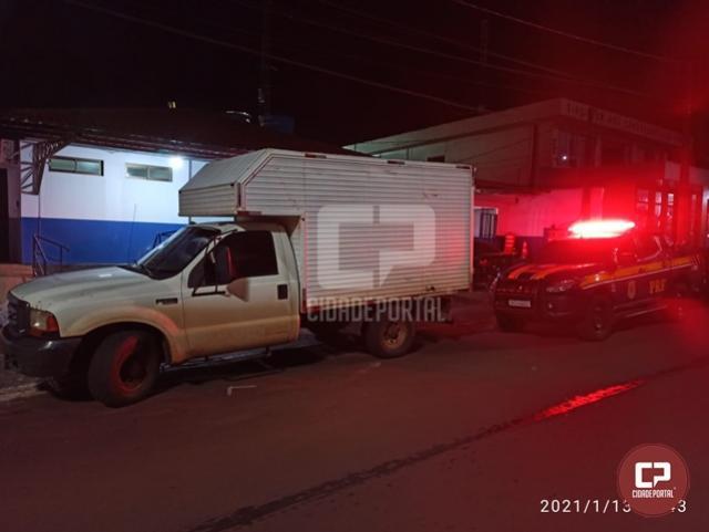 PRF age rápido e recupera veículo roubado em Marechal Cândido Rondon