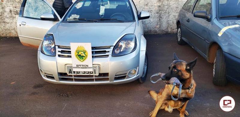 Em operação Policial veículo carregado com cigarros contrabandeados foi apreendido em Toledo